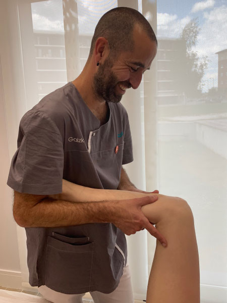Fisioterapia deportiva Osteopatía deportiva Vitoria-Gasteiz Amorrortu Osteopatía